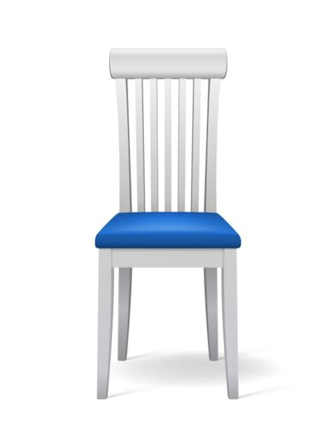 chair side view vector realistic chair in 3d vector free