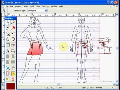cad pattern design software free cad fashion design software youtube