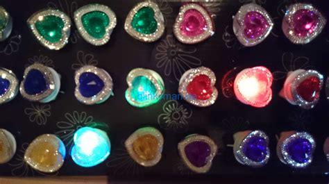 Top Blink Blink By Leecy Store blinkring 8er set original blinkringe 8 farben mix