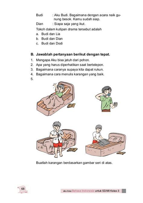 cara membuat kerajinan tangan menggunakan bahasa inggris bahasa indonesia kelas 3 sd