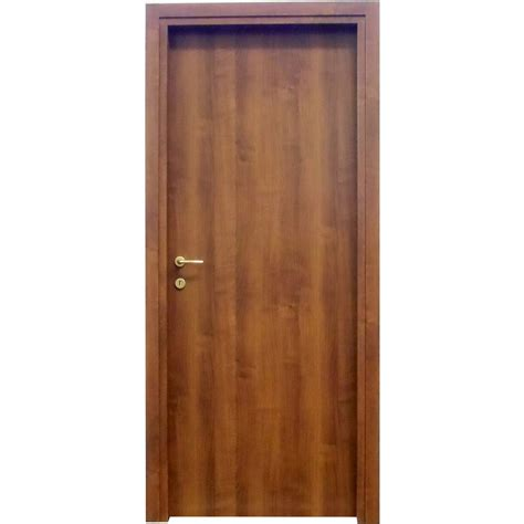 porta porta porta a battente reversibile badia noce 210 cm x 80 cm