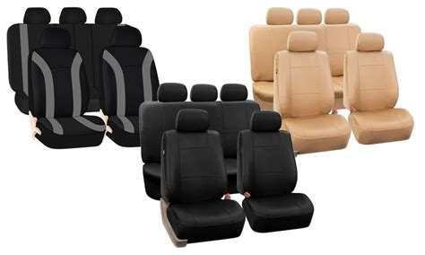 cloth seat covers leather best of fh car seat covers groupon goods