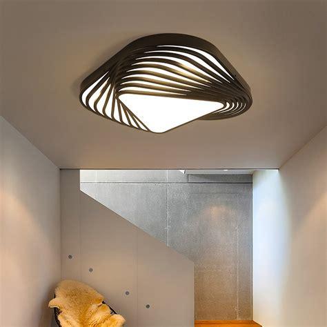 Bedroom Ceiling Lights Diy by New Design Modern Ceiling Light Diy Triangle Led Bedroom