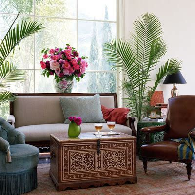 global design home decor global accent exotic ethnic flair decorating indoor plants