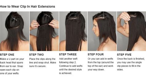 best way to put in hair extensions clip in extensions sixtythree hairstudio