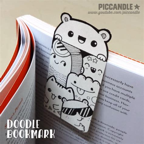Diy Mini Doodle Bookmark By Piccandle On Deviantart