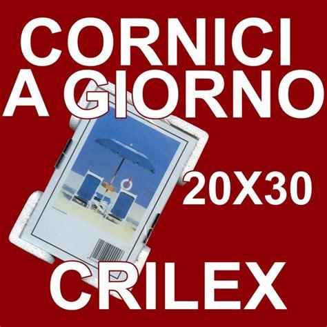 cornice 20x30 cornice a giorno in crilex portafoto in plexiglass dalla