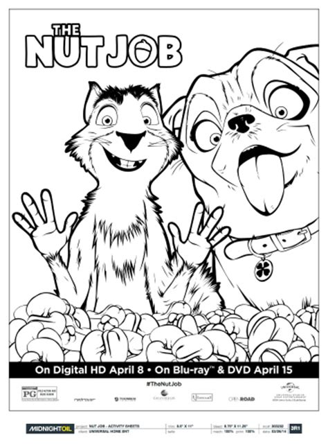 the nut pug the nut surly precious coloring page likes this