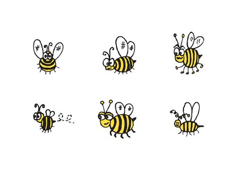 Original Reg A Free Used Bee free bee vector series free vector stock graphics images