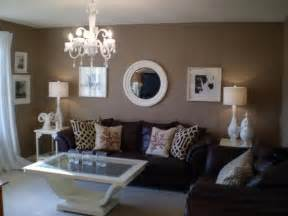 brown living room walls accent color for tan and white room home decorating ideas 2016 2017