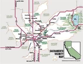 sacramento on map of california sacramento real estate and market trends