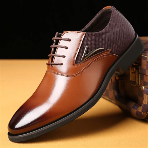 dress shoe 2018 new 2018 fashion italian designer formal mens dress shoes genuine leather luxury wedding shoes