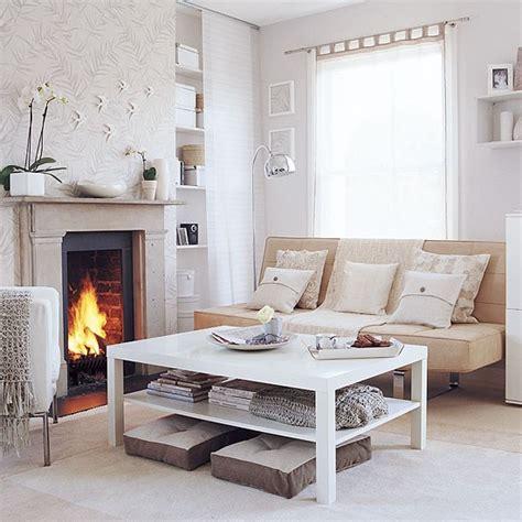 Living Room Colours Homebase Calming Living Room Shades Of White Housetohome Co Uk