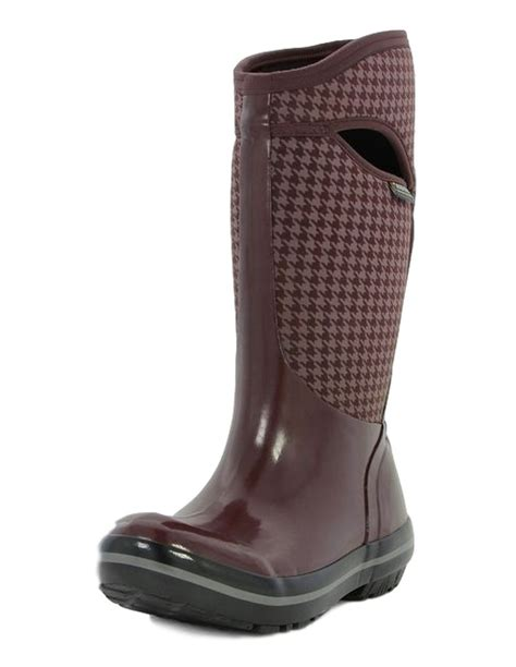 s muck boots on sale bogs muck boots womens plimsoll houndstooth pull on