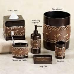 Animal parade lotion soap dispenser brown