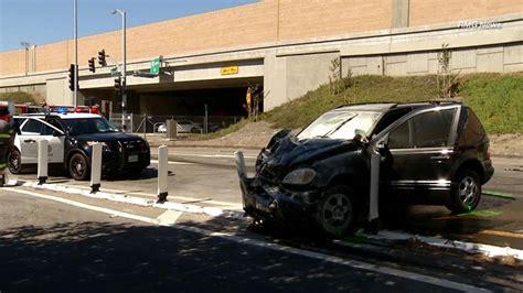 car crash in vista ca 8 injured 4 critically in west los angeles crash abc7
