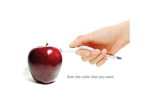 color scan pen scan and draw color sensing pen by jinsun park