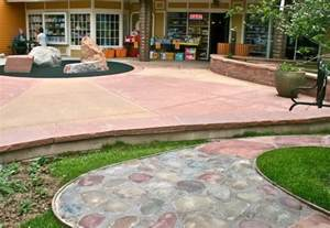 patio color remarkable colored concrete patios design best way to