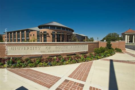 Of South Alabama Mba Tuition by Of South Alabama Cus Portals 187 Jesco