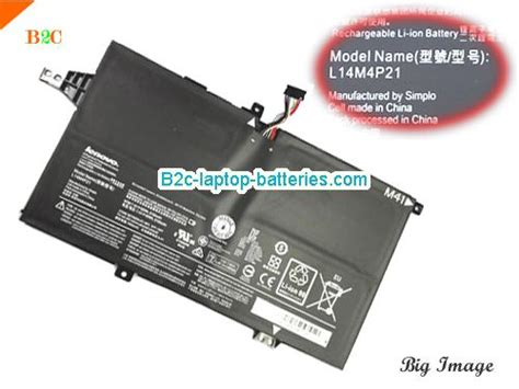 Laptop Lenovo M41 lenovo l14m4p21 l14s4p21 battery for m41 80 laptop li