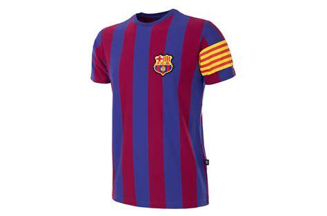 T Shirt Fc Barcelona fc barcelona captain retro t shirt forza27