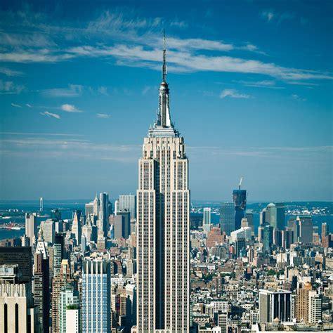 best empire building empire state building top view wallpaper