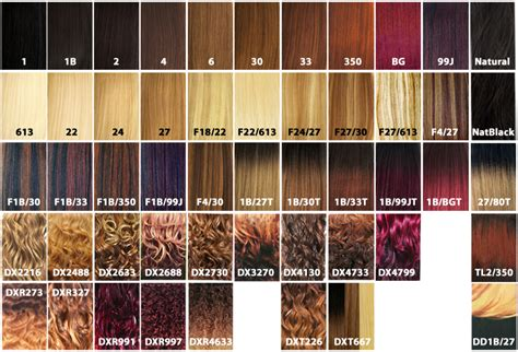 xpression braiding hair color chart xpressions hair colors of 22 elegant xpressions braiding