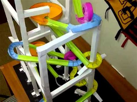 How To Make A Paper Roller Coaster Loop - paper rollercoaster