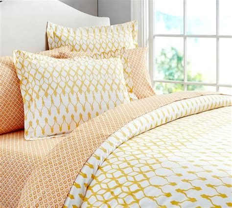 organic bedding skye organic bedding ensemble pottery barn