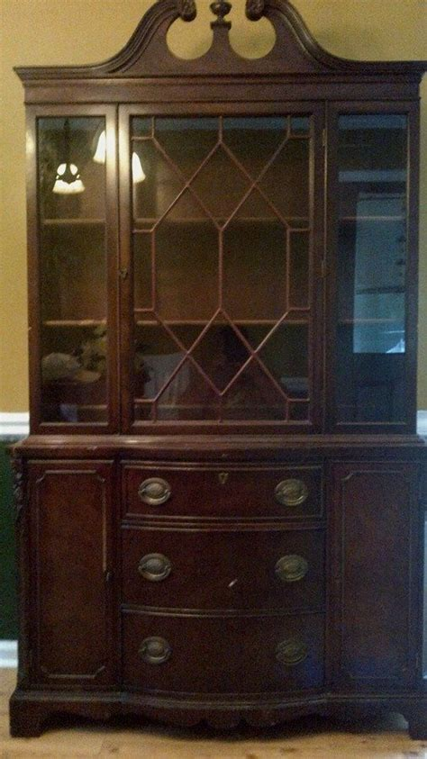 gettysburg furniture company china cabinet cabinet my antique furniture collection