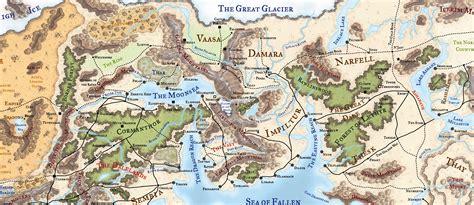 faerun map faerun map images