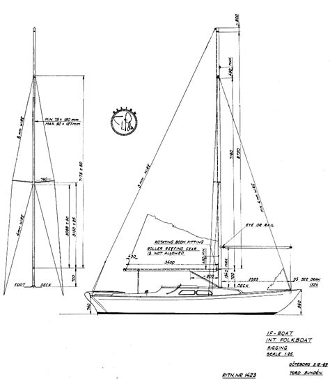 yacht rigging layout if boat reliance specs