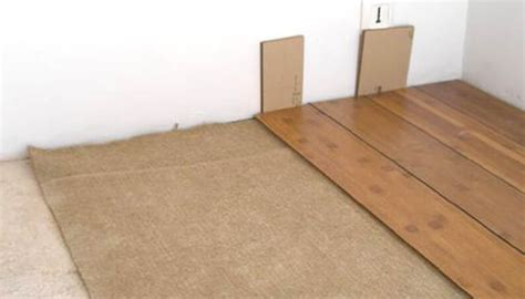 sous couche phonique parquet 1925 isolation phonique d un parquet bois avec le feutre de chanvre
