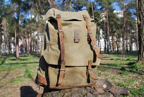 Swiss Army Original Green Canvas 19 best backpack vintage images on leather