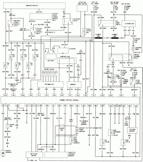 wiring diagram 1992 toyota choice image wiring