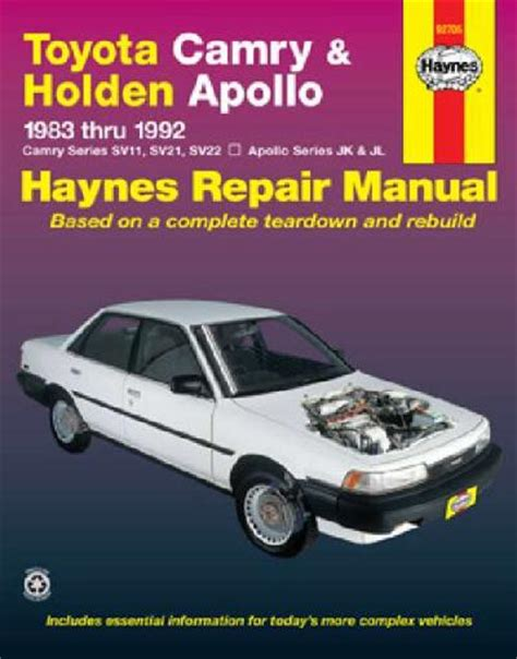service manual manual cars for sale 1992 toyota 4runner navigation system 1992 toyota toyota camry holden apollo 1983 1992 haynes service repair manual sagin workshop car manuals
