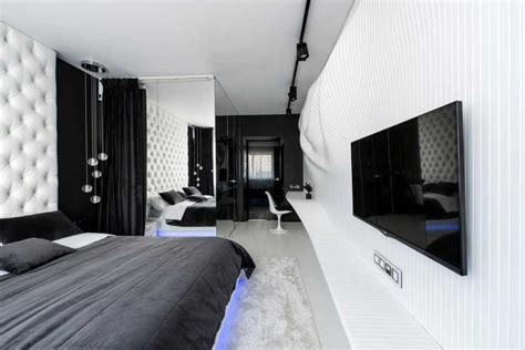 m3 arredamenti pomezia forward bedroom design in black white by