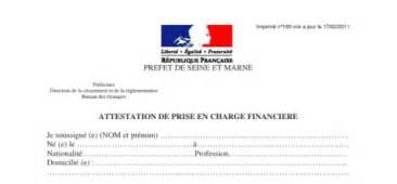 Lettre Type De Prise En Charge Pour Visa Prise En Charge Etudier En
