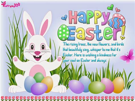 happy day greeting message happy easter poems happy easter greeting ecard pictures