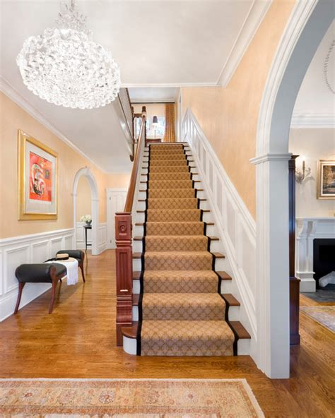whats a banister elegant family home traditional staircase boston
