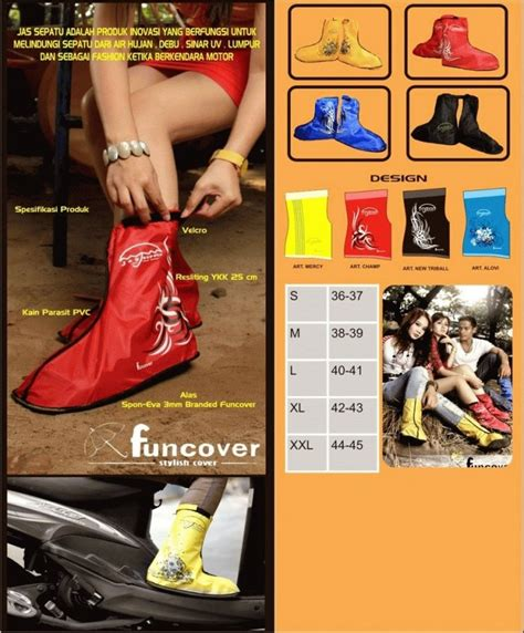 Ready Bos Cover Shoes Anti Air Funcover Jas Hujan Sepatu Funcover Ne 1 jual beli jas hujan sepatu sarung sepatu cover shoes