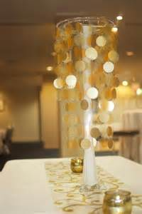 centerpiece decoration ideas gold theme centerpiece par tay ideas