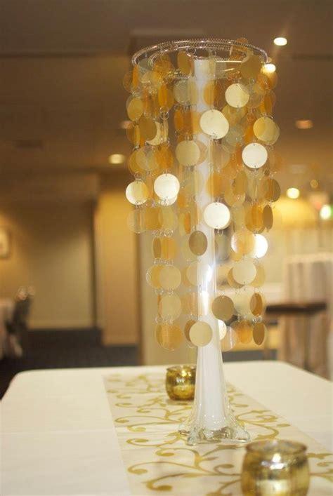 Gold Centerpiece Ideas Gold Theme Centerpiece Par Tay Ideas Pinterest