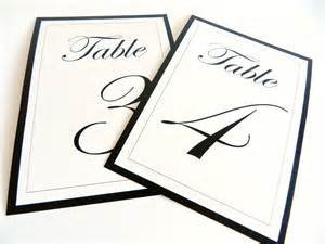 table numbers template best photos of 4x6 table number template free printable