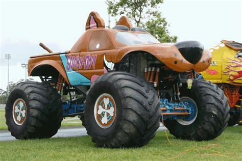 scooby doo monster jam truck toy pin trak doo on pinterest