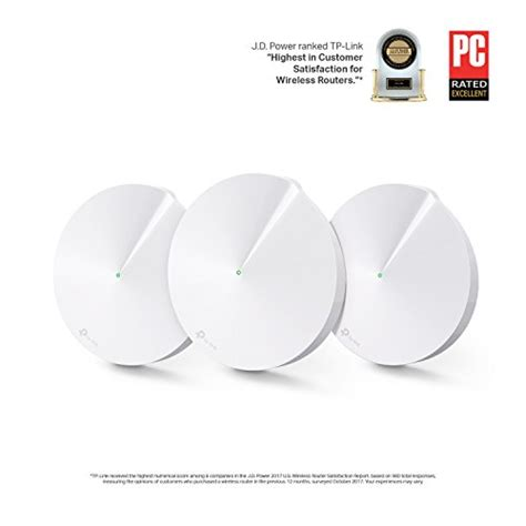 Tp Link Deco M5 The Most Secure Whole Home Mesh Wi Fi Unggulan tp link deco whole home mesh wifi system 3 pack replace wifi router and range extenders