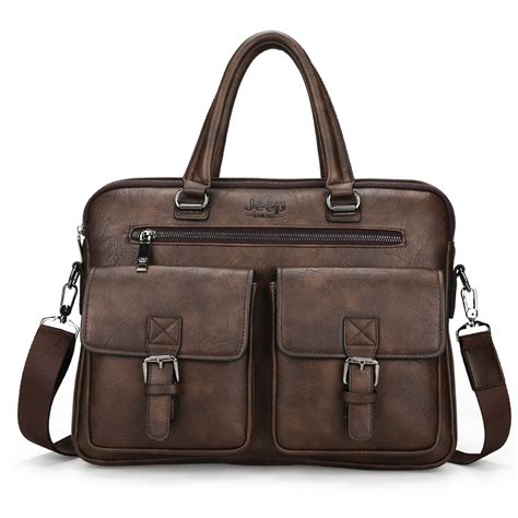 Satchel Bag No Brand jeep buluo brand new design s briefcase satchel bags for business fashion