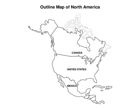 America Map Outline Printable by Printable Map Of America Pic Outline Map Of America Map Drill Geography