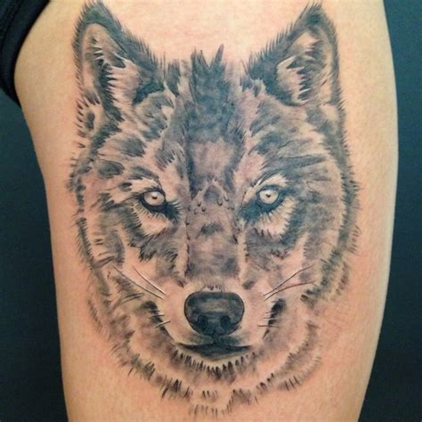 tattoo frequency instagram wolf thigh face justin turkus philadelphia frequency