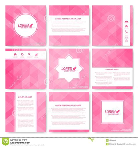 science brochure template square set of brochure business science medicine and